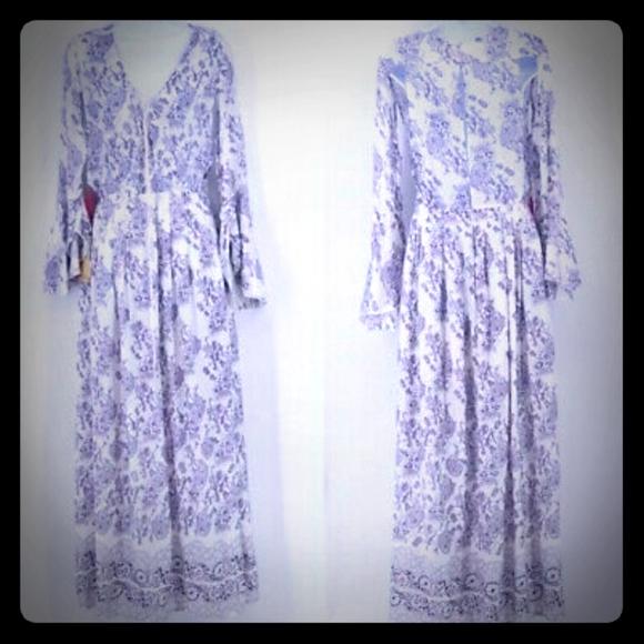 Moonrise California boho gypsy maxi dress